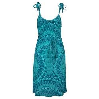 S.OLIVER Kleid Damen grün-petrol