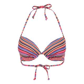 homeboy Bikini Oberteil Damen lachs-gestreift