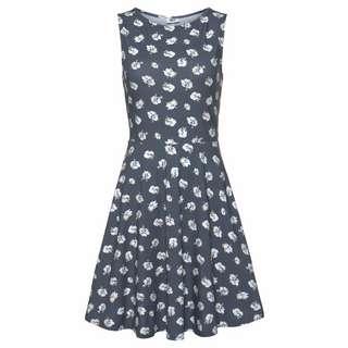 BEACH TIME Kleid Damen graublau-bedruckt