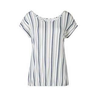 BEACH TIME T-Shirt Damen weiß-gestreift