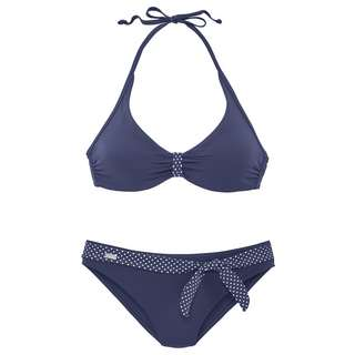 Buffalo Bikini Set Damen marine
