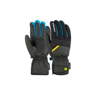 Reusch Bradley R-TEX® XT Skihandschuhe 6682 dark granite / safety yel