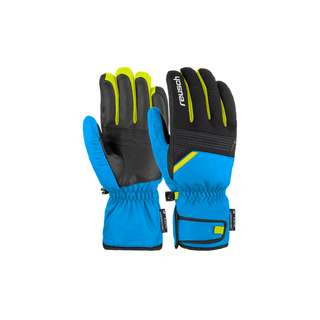 Reusch Bradley R-TEX® XT Skihandschuhe 4452 brill.blue/black/saf.yell