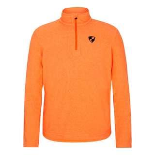 Ziener JAMIL Fleecepullover Kinder neon orange.black