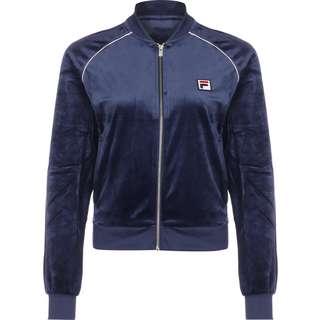 FILA Chan Velvet Trainingsjacke Damen blau