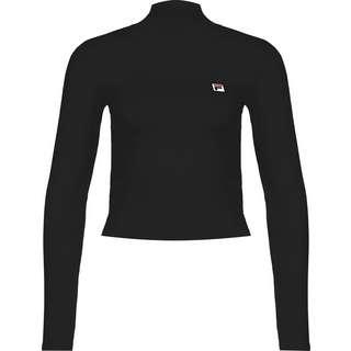 FILA Sportswear Longshirt Damen schwarz