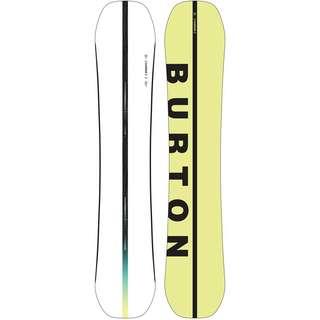 Burton Custom All-Mountain Board Herren white-yellow