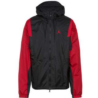 Nike Essentiell Jumpman Nylonjacke Herren black-gym red