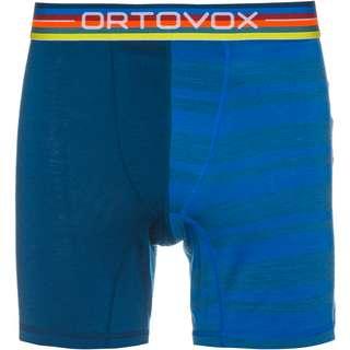 ORTOVOX Merino 185 ROCK'N'WOOL Boxer Herren just blue