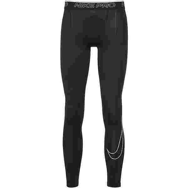 Nike Dri-Fit Pro Tights Herren black-white