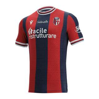 macron FC Bologna Trikot Home 2021/2022 Trikot blaurot