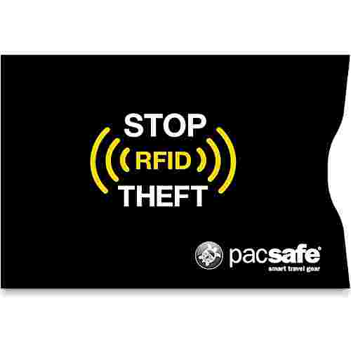 Pacsafe RFIDsleeve 25 Schutzhülle black
