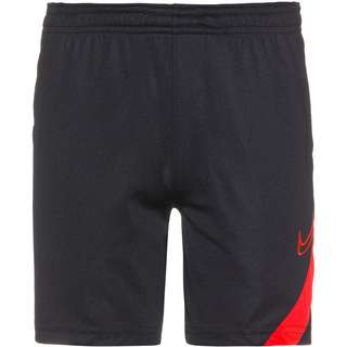 Nike Academy Pro Fußballshorts Kinder black-bright crimson-bright crimson