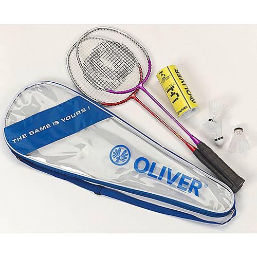 oliver badminton set blau im online shop von sportscheck kaufen. Black Bedroom Furniture Sets. Home Design Ideas