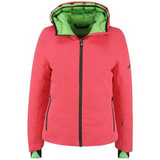 RH+ Tao W Skijacke Damen poppy red/flash green