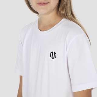 MOROTAI Kids Unisex Logo Jersey Funktionsshirt Kinder Weiß