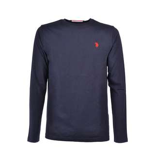 U.S. Polo Assn. T-Shirt LS T-Shirt Herren navy