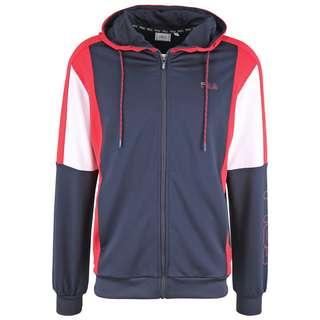 FILA MEN PALTI hooded jacket Trainingsjacke Herren black iris red-bright white