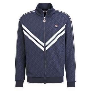 FILA MEN TAURI track jacket Trainingsjacke Herren black iris-bright white