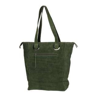 Zwillingsherz Paris Shopper Damen grün