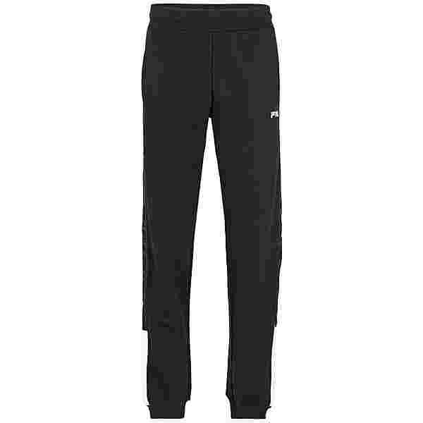 FILA MEN NARVEL sweat pants Sweathose Herren black-bright white