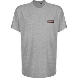 Napapijri Sase T-Shirt Herren grau/meliert