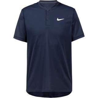 Nike Blade Tennis Polo Herren obsidian-white