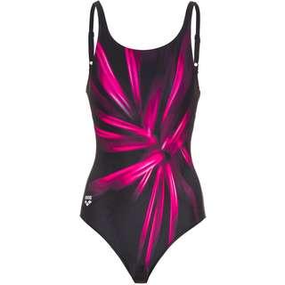 Arena Blossom Schwimmanzug Damen black-freak rose multi