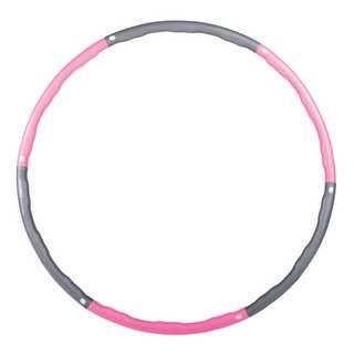 Gymstick Fitnessreifen Hula Hoop Reifen pink/silber