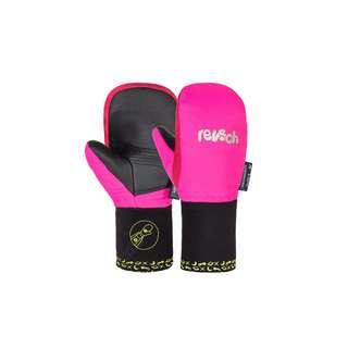 Reusch Marley R-TEX® XT Mitten Outdoorhandschuhe Kinder 3385 pink glo / virtual pink