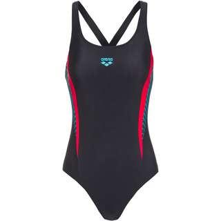 Arena Threefold Schwimmanzug Damen black-black-anguria