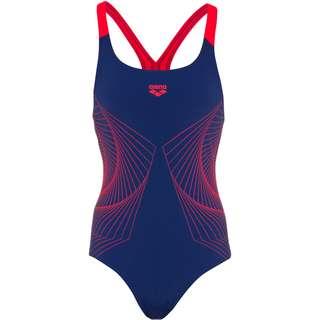 Arena Spiral Vision Schwimmanzug Damen navy-fluo red