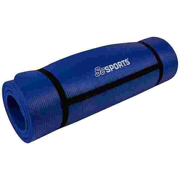 ScSPORTS Gymnastikmatte 190x60x1,5 veilchenblau Matte Blau
