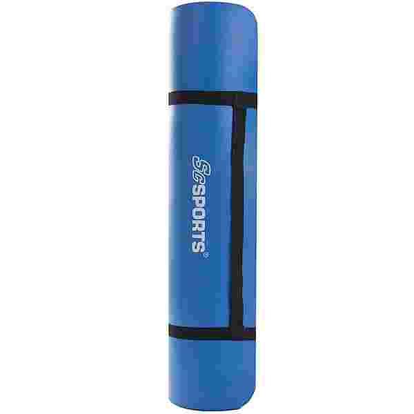 ScSPORTS Gymnastikmatte 185 x 80 x 1 blau Matte Blau