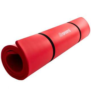 ScSPORTS Gymnastikmatte 190 x 80 x 1,5  rot Matte Rot