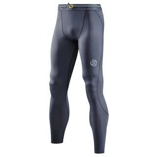 Skins S3 T&R Long Tight Tights Herren Charcoal