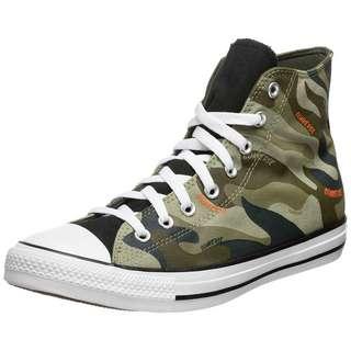 CONVERSE Chuck Taylor All Star Hi Sneaker Herren oliv / braun