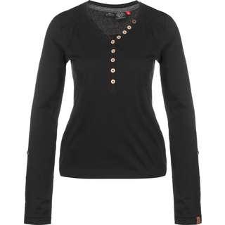 Ragwear Pinch Solid Longshirt Damen schwarz