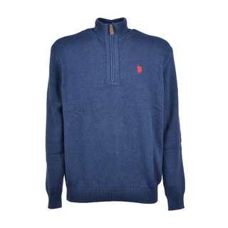 U.S. Polo Assn. Troyer Sweatshirt Herren jeans blue