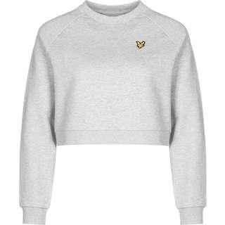Lyle & Scott Cropped Sweatshirt Damen grau