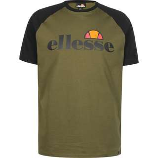 Ellesse Corp T-Shirt Herren oliv/schwarz