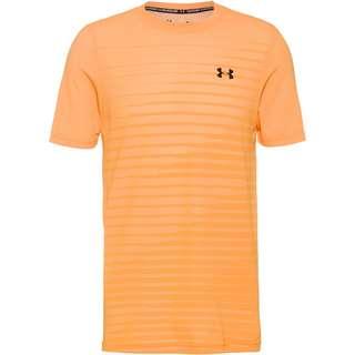 Under Armour Seamless Fade Funktionsshirt Herren omega orange -black