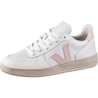 VEJA V-10 Sneaker Damen extra white-petale