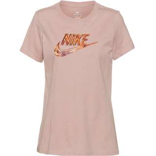 Nike NSW T-Shirt Damen pink oxford
