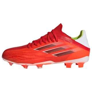 adidas X Speedflow.1 FG Fußballschuh Fußballschuhe Kinder Red / Core Black / Solar Red