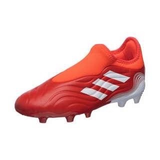 adidas Copa Sense.3 Laceless Fußballschuhe Kinder rot / weiß