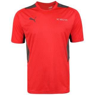 PUMA AC Mailand Fanshirt Herren rot / schwarz