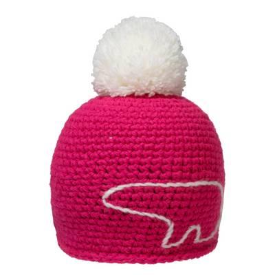 Eisbär Jay Pompon Bommelmütze pink/weiß