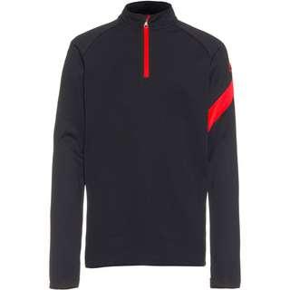 Nike Academy Pro Funktionsshirt Kinder black-black-bright crimson-bright crimson