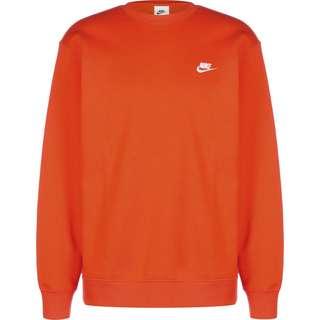 Nike Sportswear Club Fleece Sweatshirt Herren orange